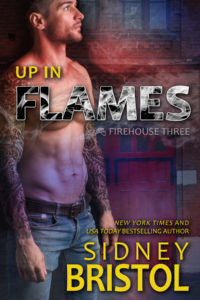 Book Cover: Up in Flames by Sidney Bristol